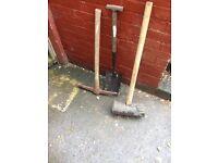 Pik spade and curb beater