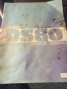 1981 Suzuki Factory DS80 Service Manual