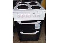 50cm wide Beko Electric Cooker.Delivery