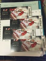 Red Wings Tickets February 6th 2pm