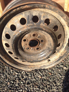 "Four 15"" Toyota Corolla steel rims For Sale"