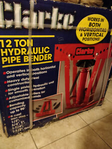 Hydraulic pipe bender BNIB