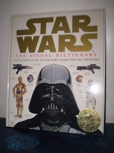 Star Wars The Visual Dictionary Book.
