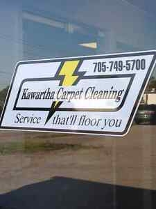 SEEKING CARPET AND UPHOLSTERY CLEANERS Peterborough Peterborough Area image 1