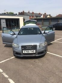 Audi A6 Avant V6 2.7L Quatro. Sat Nav. Heated Seats, Electric Mirrors, 6 Disk Changer. Leather Seats