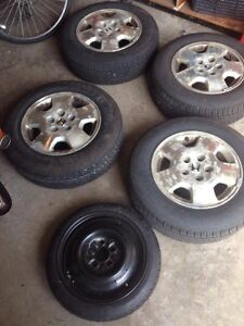 MotoMaster Touring AW/H 205/65R15 94h Complete Set from Honda AC Kitchener / Waterloo Kitchener Area image 2