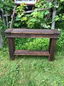 Rustic Sofa / Console Table - Table Console