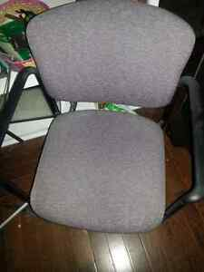 Various waiting room chairs