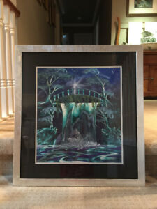 WATERFALL PAINTING - $40 (South Surrey)