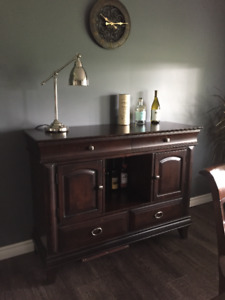 Dining Room Set, Dark Wood