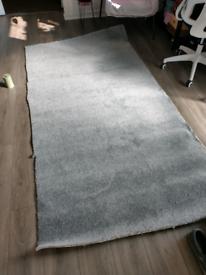 Grey carpet offcut new roughly 230cm X 120cm free