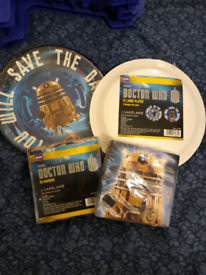 Doctor Who birthday bakeset