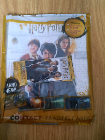 New Harry potter starter pack with book and 2 packs of trading cards