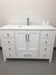 "36"" & 48"" Wood Bathroom Vanities( Warehouse Sale + Free Faucet)"