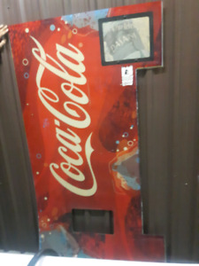 Coca - Cola Sign from a Vending Machine