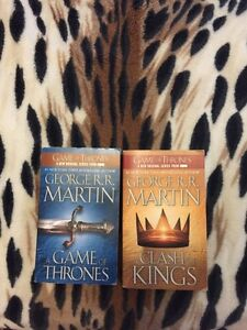 Game of thrones 2 of the first 3 books