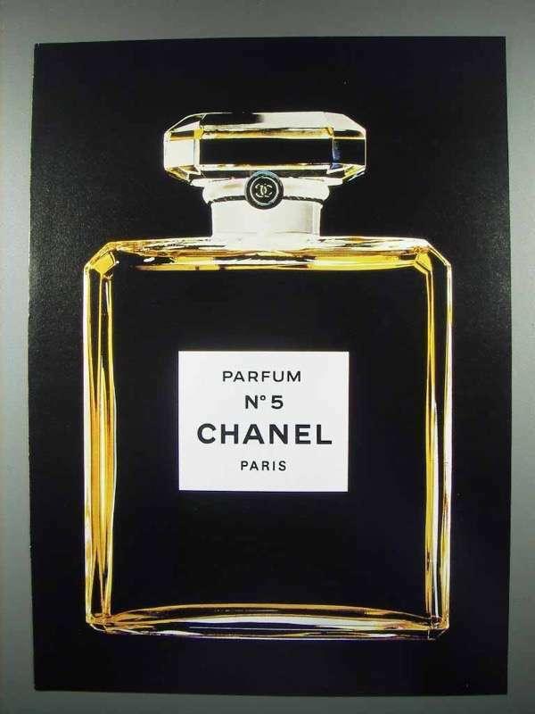 1984 Chanel No 5 Perfume Ad