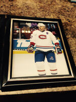 Mike Keane - Montreal Canadiens 8X10 in a frame
