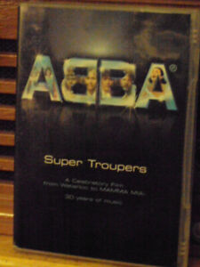 ABBA SUPER TROUPERS DVD COVER NOT MINT DVD IS MINT