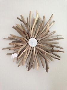 Horloge en bois de grève