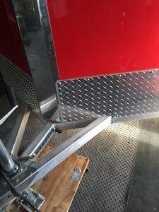 5x9 Aluminum enclosed Motorcycle trailer