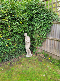 Female garden statue for sale
