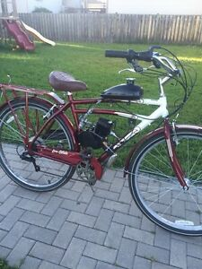 Schwinn motorized bike excellent shape almost new