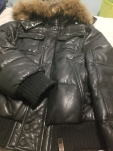 perfect condition fully leather authentic rudsak men's size L