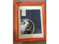 Never used wood photo frame