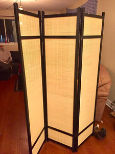 REAL BAMBOO Room/ Space Divider (PRICED AT $90)