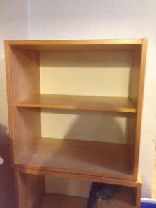 4 Wooden storage/shelving units***REDUCED***