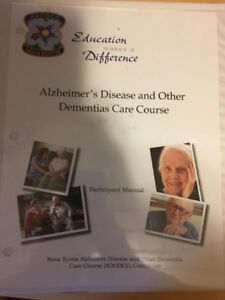 Alzheimer's Disease and Other Dementia's Care Course Textbook