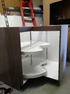 module d'armoire de cuisine en mélamine