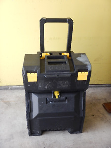 Stanley Portable Work Center Tool Box on Wheels