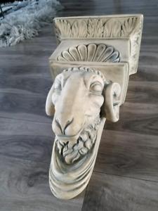 Objet décoratif en plâtre