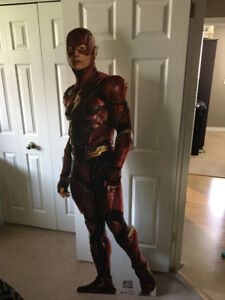 THE FLASH JUSTICE LEAGUE LIFESIZE CARDBOARD STANDUP$15.00