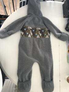 MEC fleece bunting suit (18 months, but fits large)