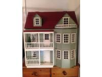 Victorian Dolls House Fully Furnished
