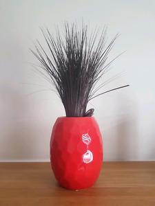 Petit vase rouge