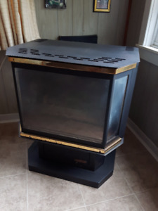Drolet Propane Fireplace