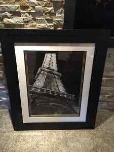 Large effiel tower photo black and white Cambridge Kitchener Area image 1