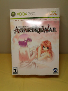 Record of Agarest War Limited Edition Xbox 360