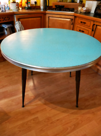 Stunning vintage cafe or dining table