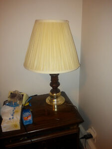Wood & Brass - Wood / Gold Lamps / Night Lamps - FREE DELIVERY!!