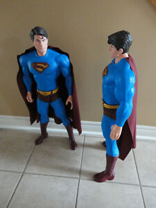 LARGE SUPERMAN MAN ACTION HERO FIGURINE STATUE TOY COLLECTIBLE London Ontario image 5