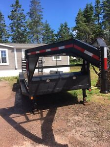 LoadX Tri axel gooseneck trailer