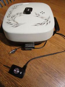 ELECTRIC FRYING PAN SKILLET