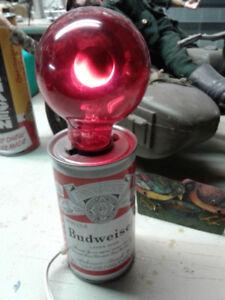 Lampe promo Budweiser