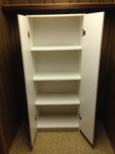 White 4 Draw Storage Cabinet