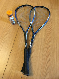 Squash Set - 2 Rackets and a Pack of Three Balls